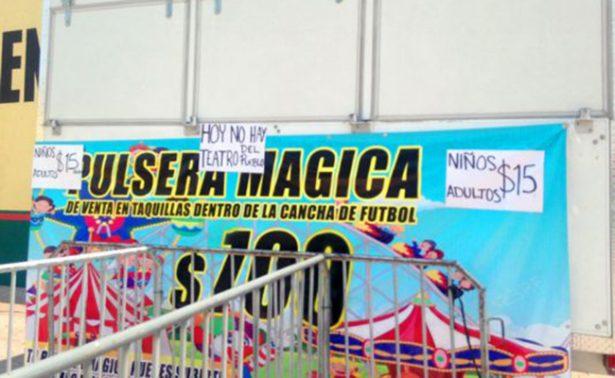 Fracasa la Feria de Cuernavaca; termina antes de tiempo