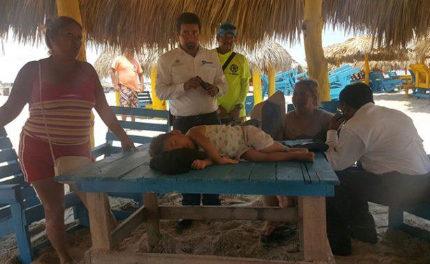 Abandonan a regios en Miramar