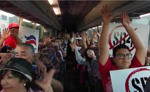 """Se unen texanos en contra de ley """"anti-santuario"""""""