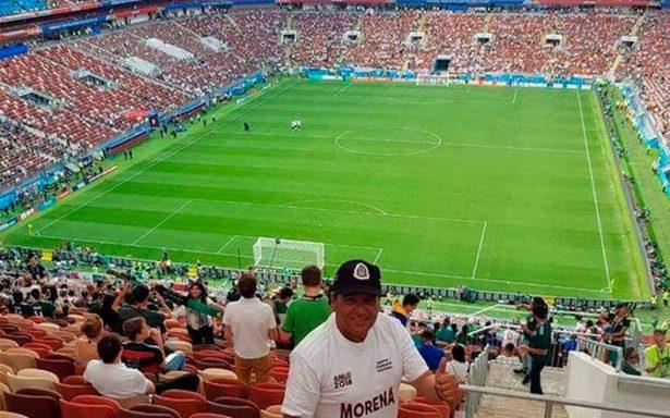 Morena cancela candidatura de aspirante en Puebla que viajó al Mundial
