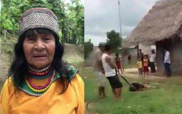 [Video] Linchan a canadiense por presuntamente matar a curandera peruana en región amazónica