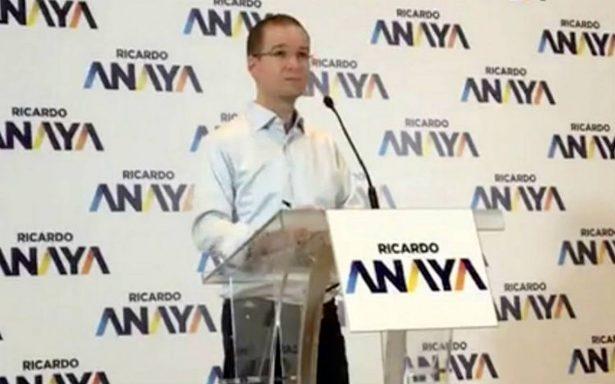 Anaya propone que periodistas participen en primer debate entre presidenciables