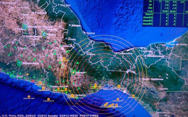 Sismo con epicentro en Arriaga, Chiapas, se percibe en 4 estados