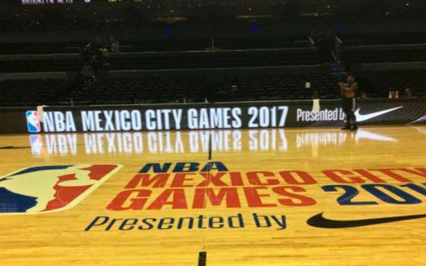 CDMX quiere que ser sede permanente de la NBA