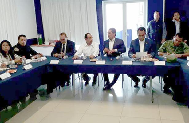 Ratifica Aureoles compromiso por la seguridad de Zamora