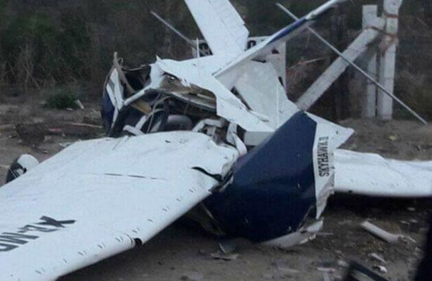 Se desploma avioneta en Magdalena; mueren todos sus ocupantes
