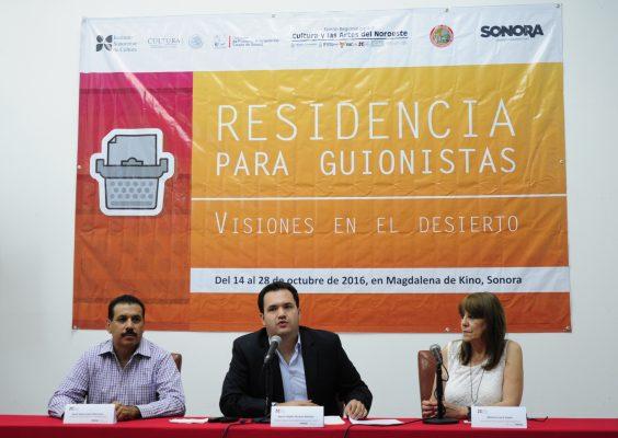 Ofrecerán residencias a guionistas en Magdalena de Kino