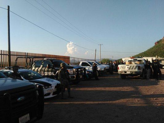 Trasladan a reos tras motín en penal de Guaymas