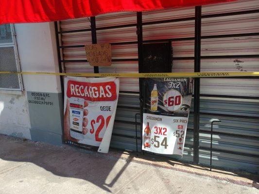 Sustraen de expendio 8 mil pesos en efectivo