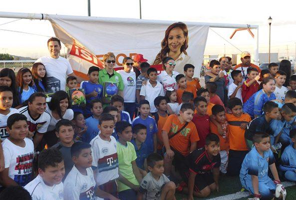 Exalta Paty Domínguez apoyo al deporte