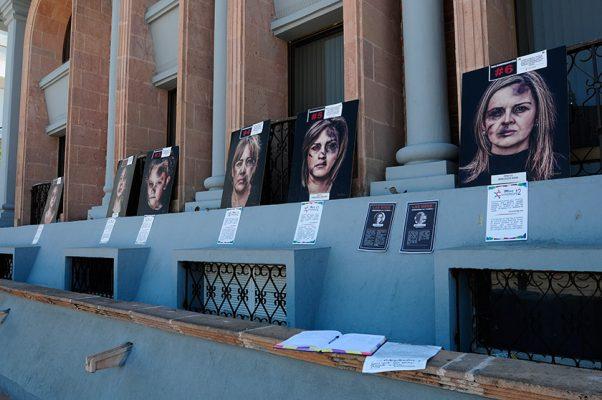 Promueven en imágenes acciones contra violencia de género