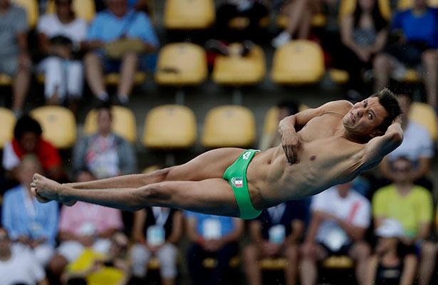 Germán Sánchez logra la medalla de plata en clavados