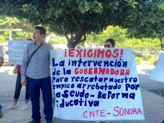 Amaga CNTE seguir protestas contra la IP
