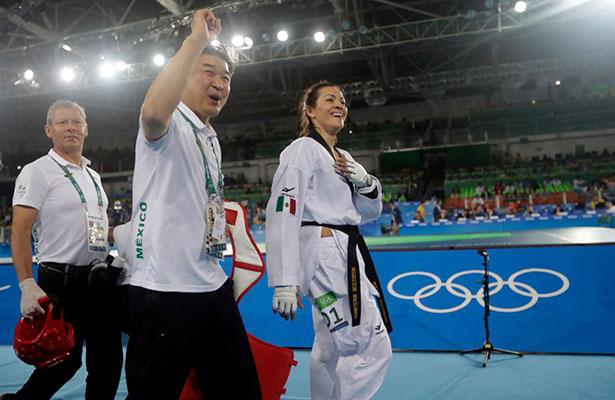 María del Rosario Espinoza va por el oro en taekwondo