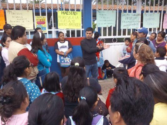 Continúa sus acciones la sección 22 en Oaxaca