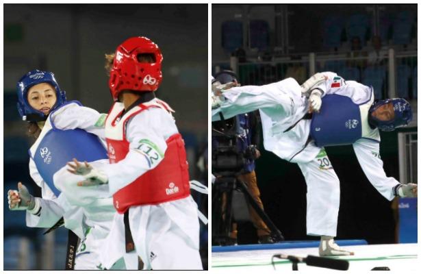 Taekwondoínes mexicanos a semifinales en Río 2016