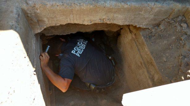 Descubren túnel clandestino en Sonora-Arizona