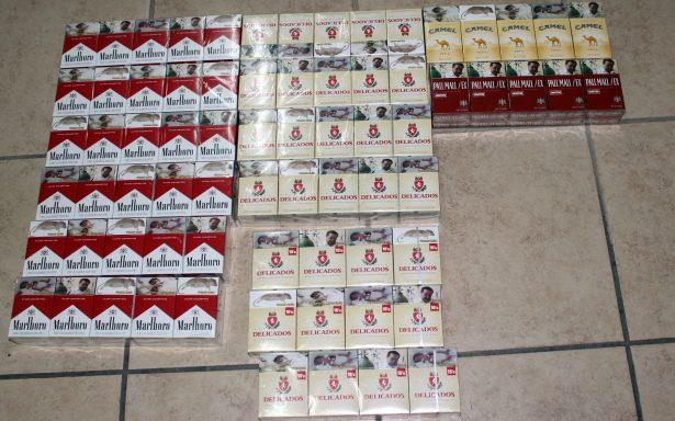 Iban bien cargados de cigarros