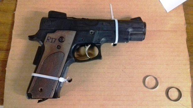 Capturan a delincuente armado