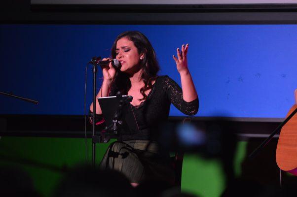 Natalia Aguilar ofreció un gran concierto