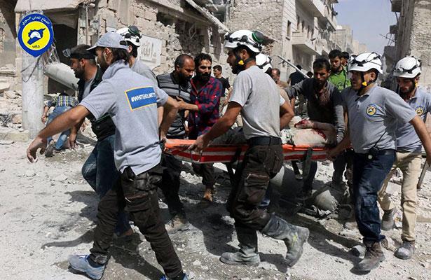 Ataques en Alepo dejan 96 niños muertos y 223 heridos desde el viernes