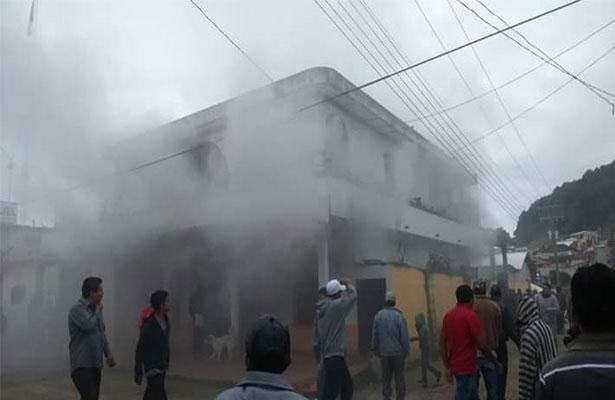 Explota vivienda de Chiapas que almacenaba cohetes