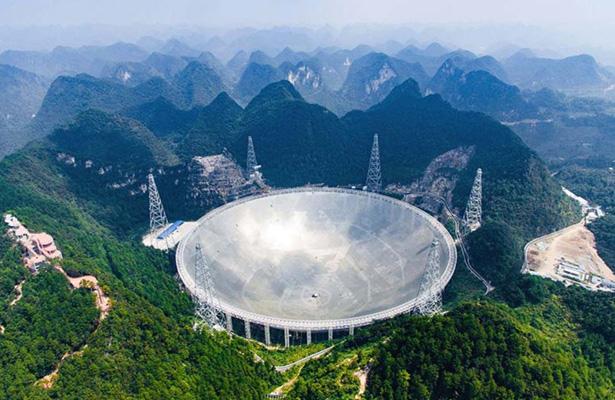 China crea el radiotelescopio más grande del mundo: busca vida extraterrestre