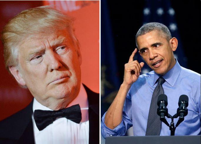 Trump pone en duda dónde nació Obama; Hillary le exige disculpas