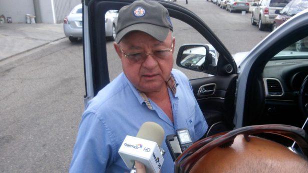 Héctor Ortiz Ciscomani acude a Fiscalía Anticorrupción