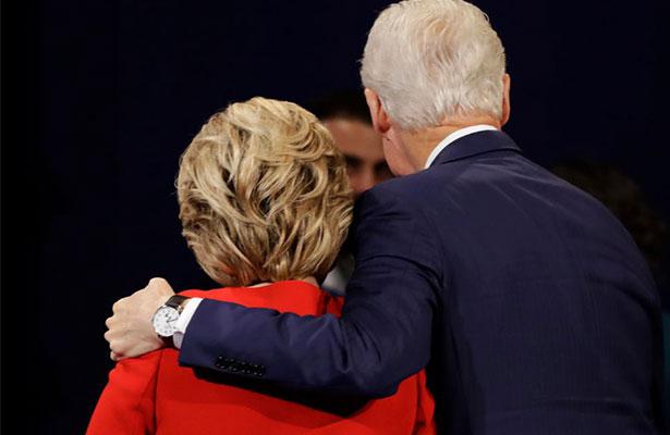 Trump planea atacar a Hillary con infidelidades de Bill Clinton