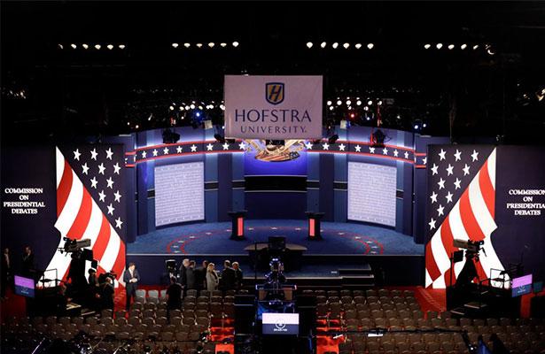 ¿Dónde ver el debate entre Hillary Clinton y Donald Trump?