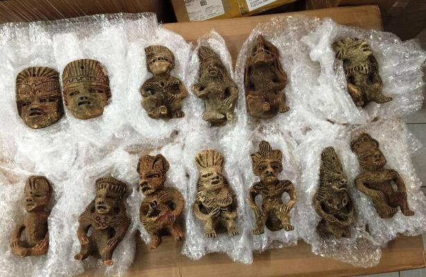 Asegura Policía Federal piezas arqueológicas en Jalisco
