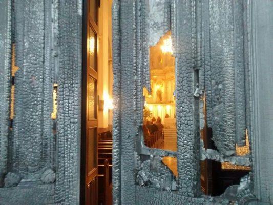 Faltan un par de semanas para la puerta de Catedral