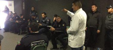 Hacen antidoping a 107 policías municipales