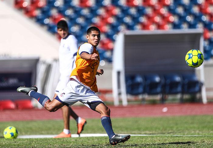 Entrenamiento  de Cimarrones de Sonora, previo al inicio del torneo de Clausura 2017 de la liga de Ascenso y Copa MX  ©Foto: LuisGutierrrez/NortePhoto.com