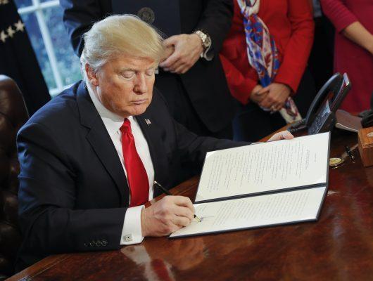 Trump asigna 2.600 mdd para iniciar muro en la frontera con México