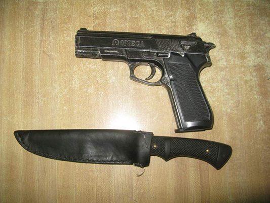 Capturan a delincuentes armados
