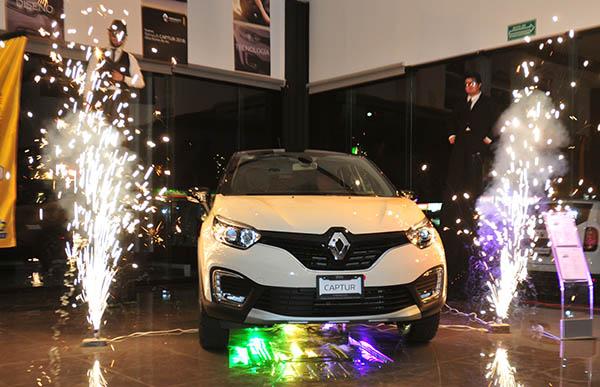 Presentan Renault Captur 2018