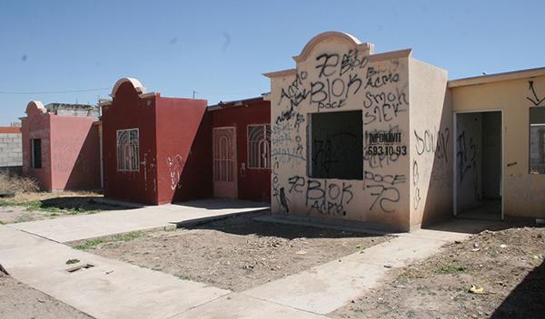 Hay en Hermosillo 45 mil casas abandonadas