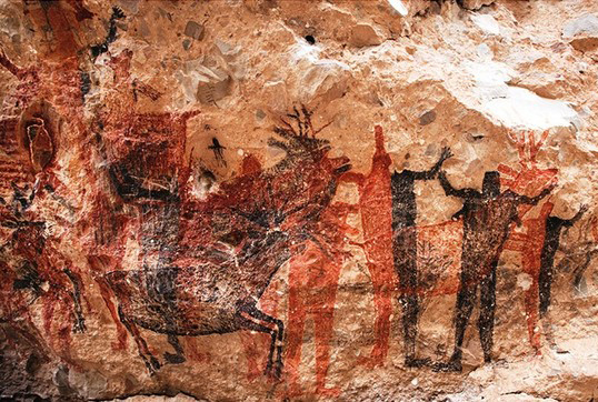 Lenta la recuperación de pinturas rupestres en La Pintada: Lemmen Meyer