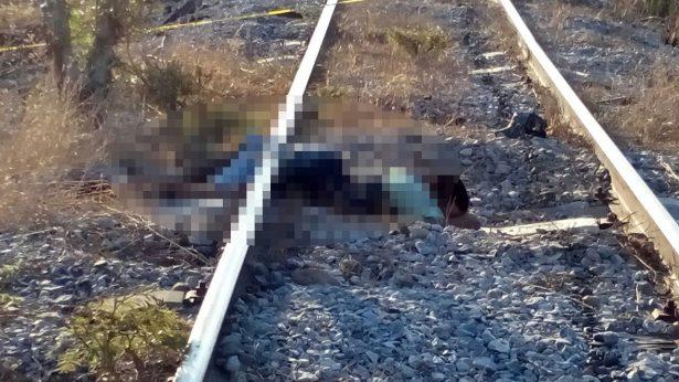 Muere migrante arrollado por la bestia en Tehuantepec