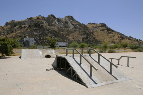 Agoniza skatepark frente a La Sauceda
