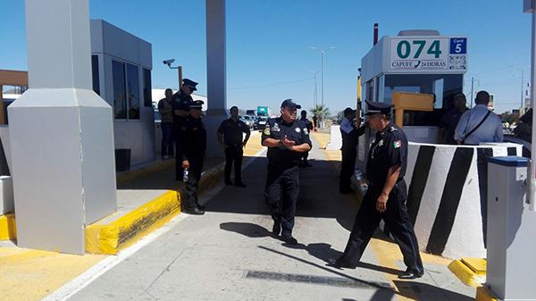 Recuperan autoridades caseta de cobro 152