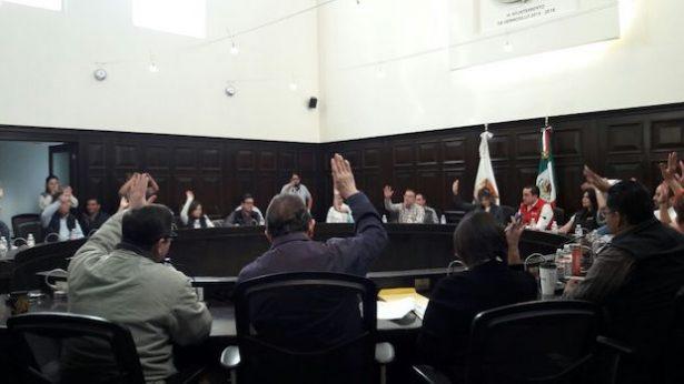 Aprueba Cabildo reelección de presidentes municipales