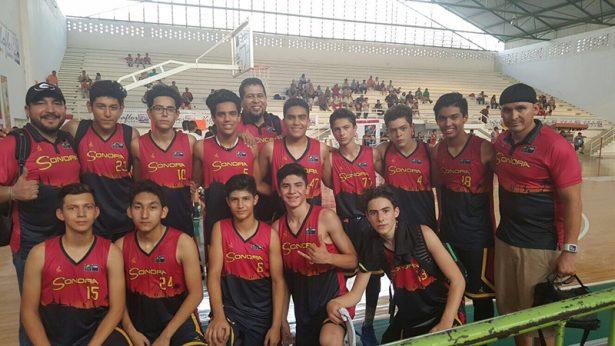 Victoriosa jornada en el nacional de Basquetbol U14