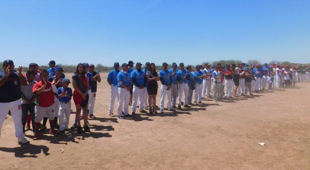 Arranca el Beisbol Ejidal