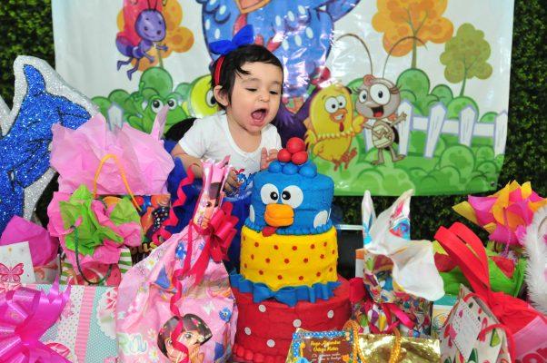 Celebra Luciana su primer año de vida