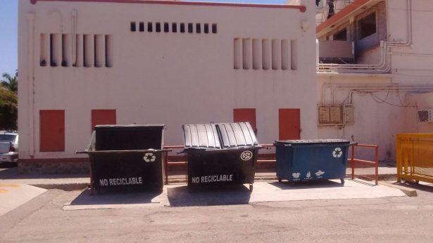 Unison sustentable con programa de separación de basura