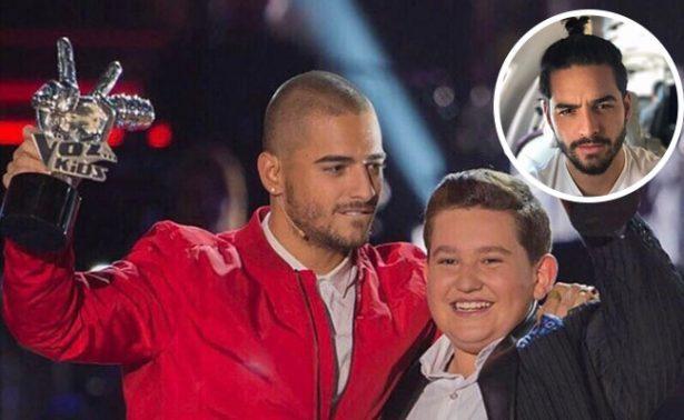"Fraude en final de ""La Voz Kids"" por ¿cabello de Maluma?: Fans"