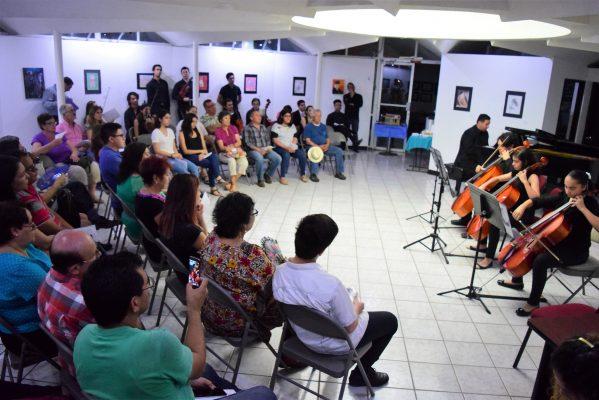 Jóvenes talentos celebran la Fiesta de la Música